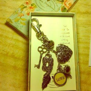 Sandra Magsamen Keychain New in Box